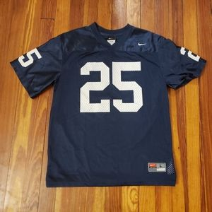 Penn State NIKE NUMBER 25 KIDS LARGE JERSEY in exc